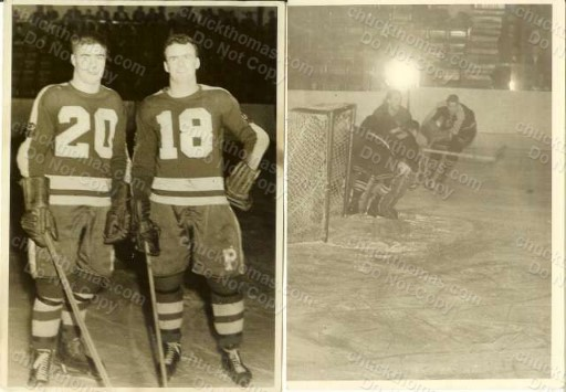 ORIGINAL Photo 5x7 Inch Pittsburgh Hornet Hockey Players