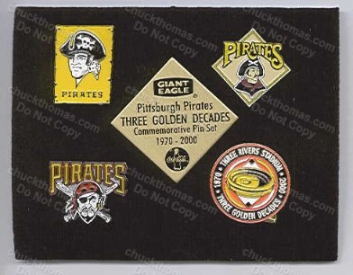 Pirates 4 Pin Set