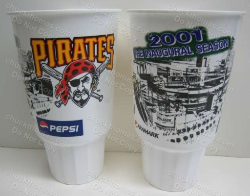 PNC Park Inaugural Year Cups