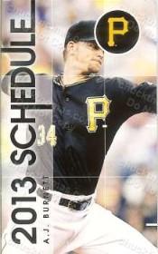 Pirates Baseball 2013 Pocket Schedule