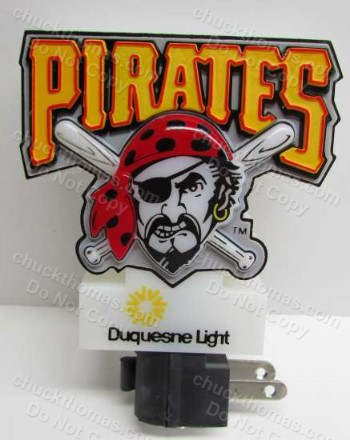 Pirates Night Light Home Game Promo