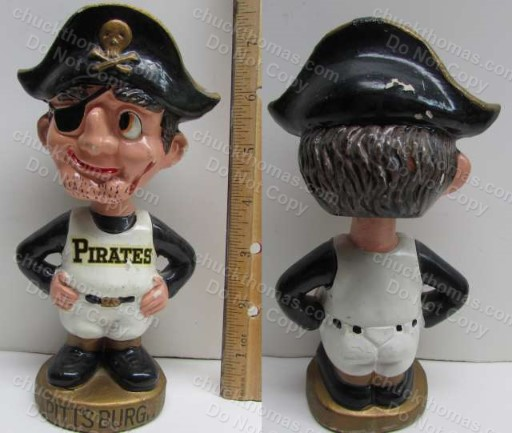 1960s Pirate Bobbing Head Doll