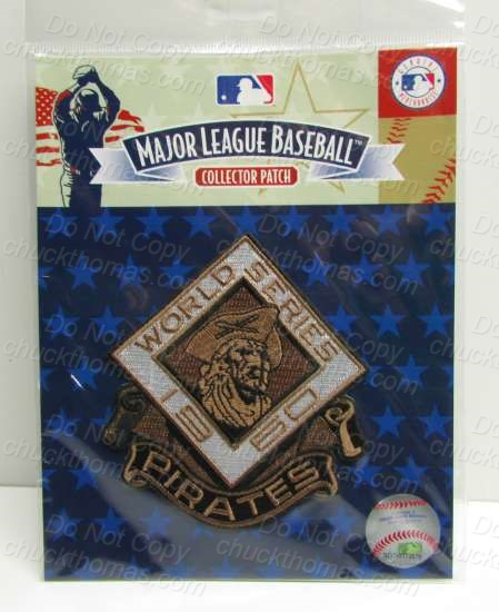 Pirates 1960 World Series Commemorative Patch