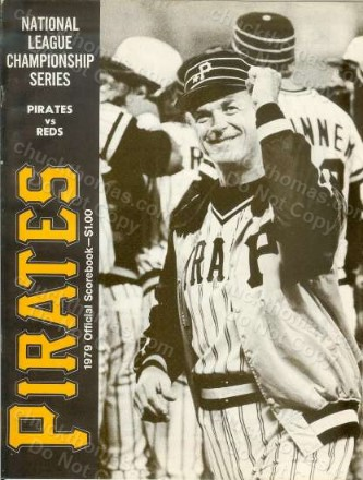 Pirates 1979 Scorebook