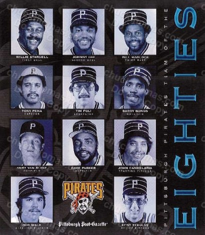 Pirates Team of the 80's Poster
