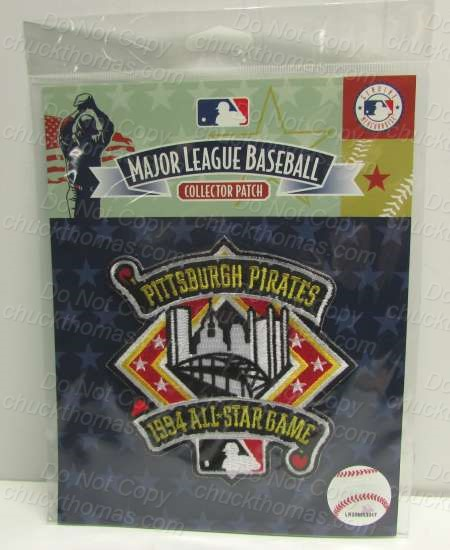 Pirates Basebll 1994 All Star Game Patch