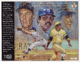 Pirates AllStar Upper Deck Commemorative Sheet