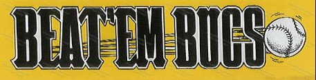 Pirates ORIGINAL Beat um Bucs Bumpter Sticker