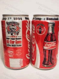 1994 All Star Game COKE Can