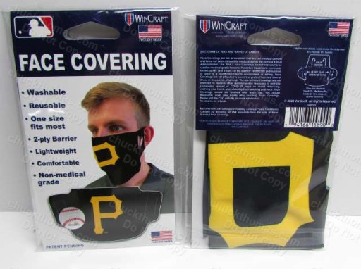 Pirate Baseball Cloth Face Mask