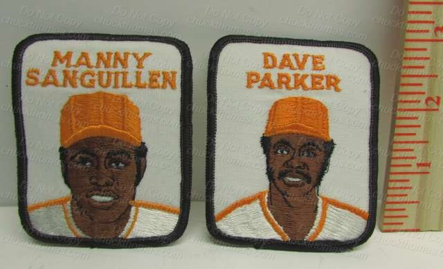 Pirate Player Embroidered Patches