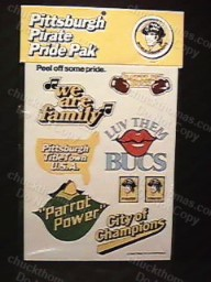 Pittsburgh Pirates Decal Pak