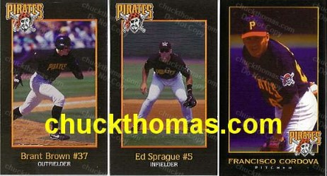 Pittsburgh Pirates 10 Card Regional S