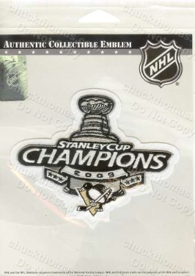 2009 Penguin Stanley Cup Champions Jersey Patch