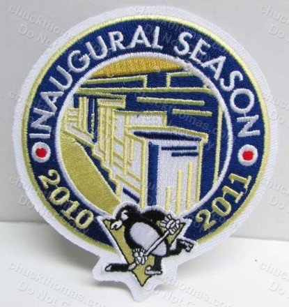 Penguins 2011 Inagural Season at Consol Energy Center Cloth Jersey Patch