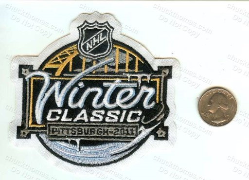 2011 Penguins Winter Classic Cloth Patch