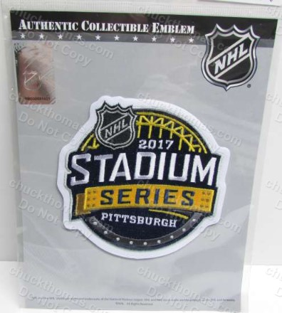 Penguins Stadium Series 2017 Cloth Jersey Patch