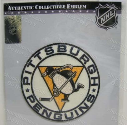 Penguins Hockey 1967-68 Replica Jersey Scarf Patch