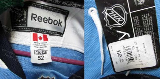 Reebok Penguin Captain Sidney Crosby Reebok Authentic Jersey Size 52