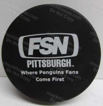 Fox Sportsnet Pittsburgh FOAM Puck