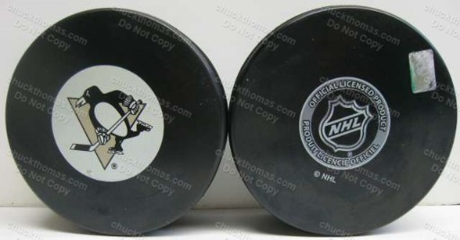 Penguin Logo Inglas co Official Puck