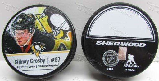 Sidney Crosby Photo Puck