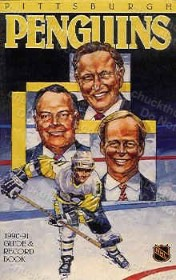 Penguins 1990-91 Media Guide and Yearbook