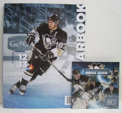 Penguin Hockey 2012-13 Official Yearbook and Media Guide CD