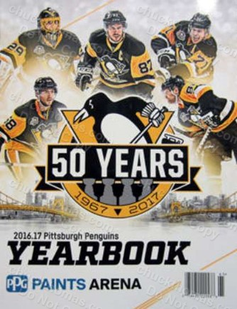 Penguins 2016-17 Official 50 Seasons Yearbook