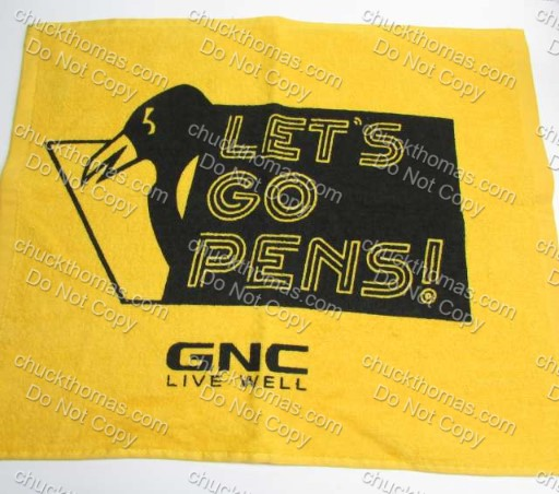 GNC Live Well Pens 2018 Playoff Towel