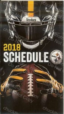 Steeler 2019 Pocket Schedule
