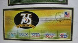 Steelers 75th Anv Cachet