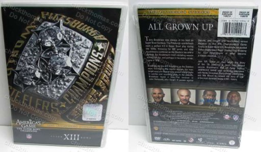 America's Game 1978 Steeler Super Bowl Champs XIII NEW Sealed DVD