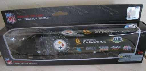Steeler 6x Super Bowl Champs 1:80 Scale Tractor Trailer