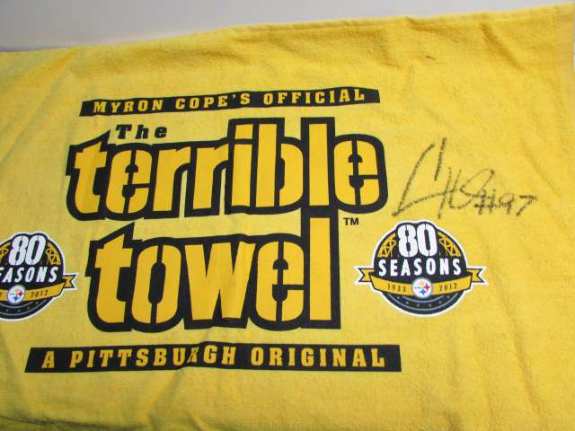 Cam Heyward Signed Terrible Towel