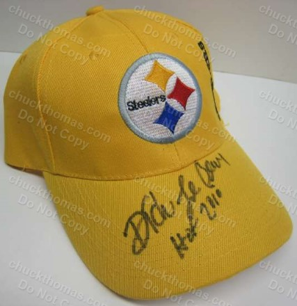 Steeler Defensive Coach Dick LeBeau Auto Cap