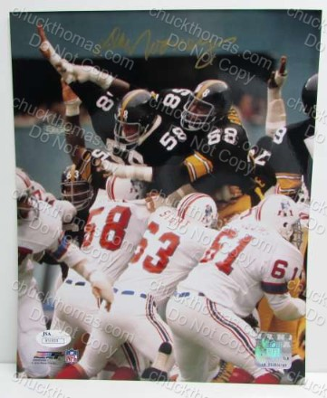 2a5f3ae479a Autograph Quality and Autograph Material. Steeler Owner Dan Rooney  Autogaphed Photo with a JSA Certificate