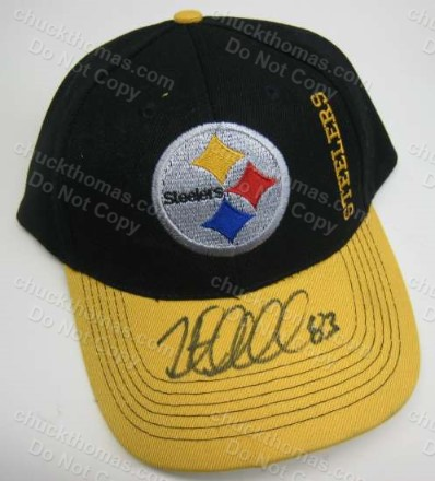 Heath Miller Autographed Steel Logo Ball Cap