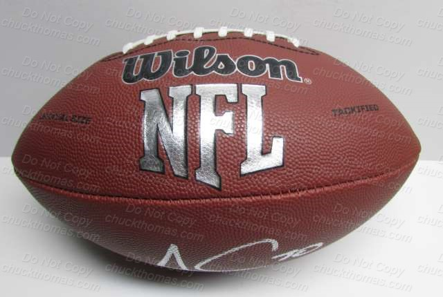 Steeler James Connor Signed Wilson Football