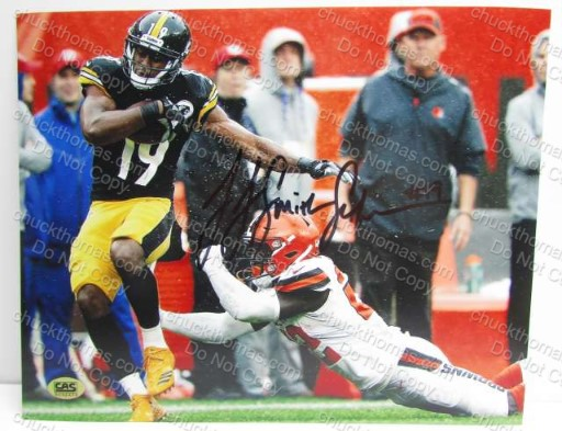 JuJu Smith Schuster Sized Steeler 8x10 Photo