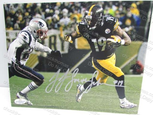 JuJu Smith Shuster Autographed Steeler Photo