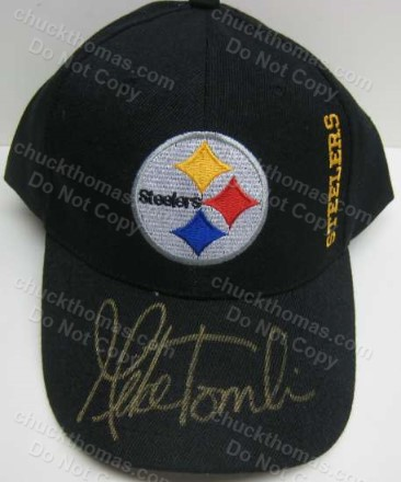 Steeler Coach Mike Tomlin Autographed Ball Cap