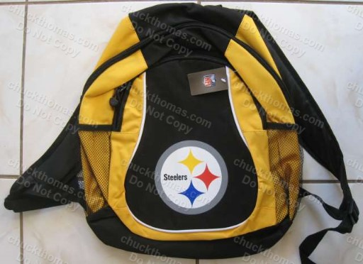 Steeler Black and Gold Student Back Pack