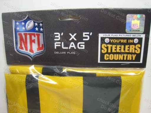 You're in Steeler Country Black and Gold 3 x 5 Flag