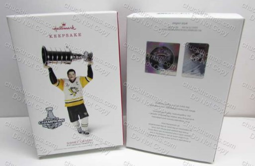 Sidney Crosby 2018 Hallmark Keepsake Ornament