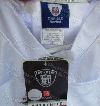 Steelers Super Bowl 6 Patch Reebook White Jersey