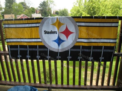 Steeler Beach Towel