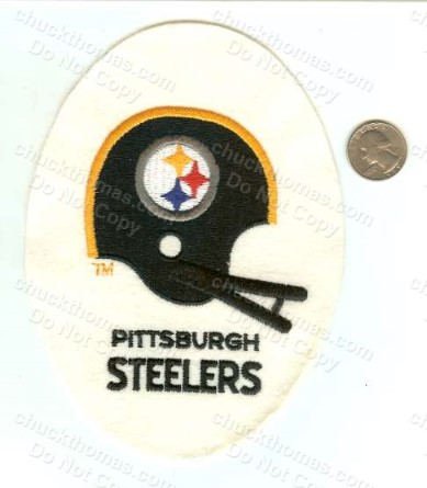 Steelers Egg Helmet Patch