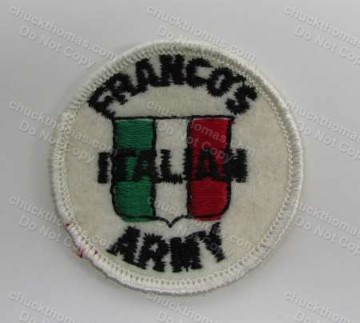Franco's Italian Army Cloth Patch