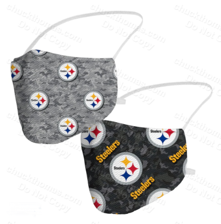 Steeler Football Face Masks